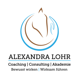 Logo Pferdegestütztes Coaching Alexandra Lohr